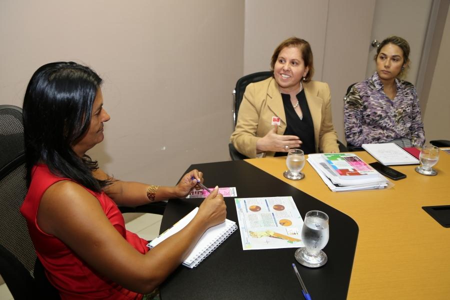 ICoordenadora da Mulher do TJSE participa de reunião com Vice-Governadora de Sergipe