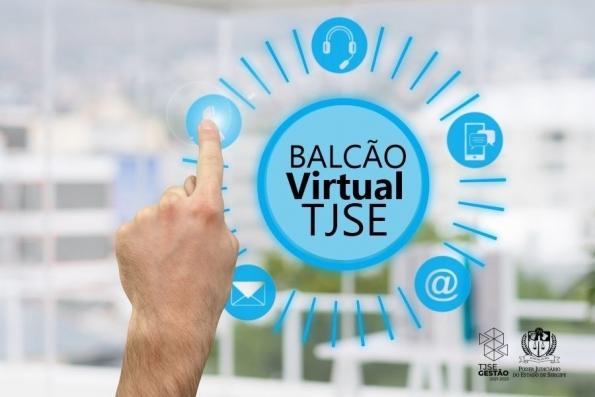 TJSE implanta Balcão Virtual nas unidades da Justiça para atendimento aos jurisdicionados