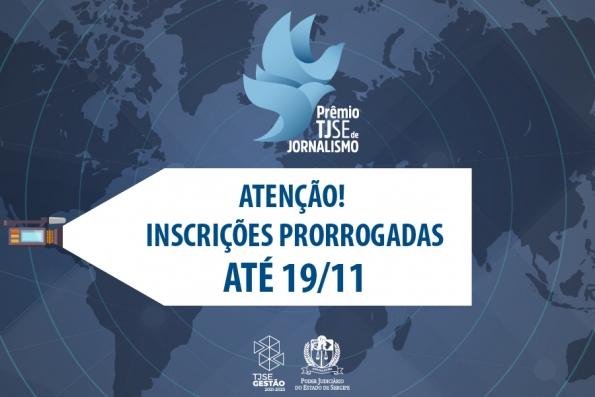 TJSE lança Prêmio de Jornalismo: inscrições ocorrem de 02/06 a 29/10