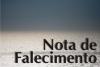 Nota de falecimento: sr. Agnaldo Nascimento