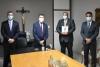 Presidente do TJSE recebe visita de cortesia da PGE