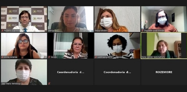 ICoordenadoria da Mulher, ALESE e AMASE debatem projetos de lei em defesa da mulher