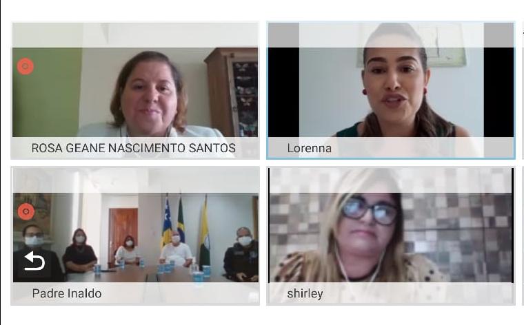 ISocorro lança Patrulha Maria da Penha em reunião por videoconferência com equipe do TJSE