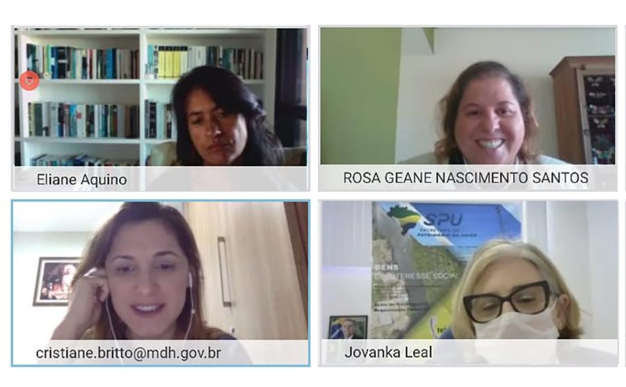 ICasa da Mulher Brasileira: Coordenadora da Mulher se reúne com Secretária Nacional e Vice-Governadora